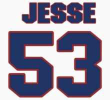 National Hockey player Jesse Fibiger jersey 53 by imsport