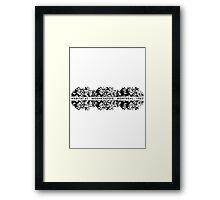 Habitat 67 Moshe Safdie Architecture T-shirt Framed Print