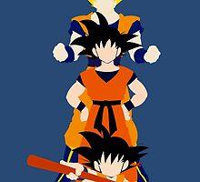 Dragonball Z History of Goku  by defrain