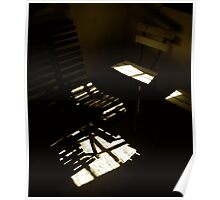 chairs in shadow talks Poster