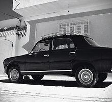 Vintage Peugeot by Margaret Chilinski