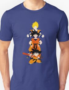 Dragonball Z History of Goku  T-Shirt