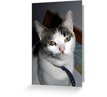 Why must you embarrass me? Greeting Card