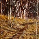 """The Deer Trail"" by Susan Bergstrom"