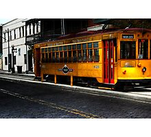 Trolley 428, Where Are You? Photographic Print