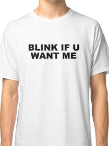 Filrt Love Teenage Joke Funny Gift Original Cool Classic T-Shirt