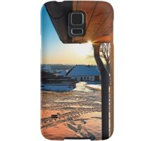 Sunny winter afternoon at the farm | landscape photography Samsung Galaxy Case/Skin