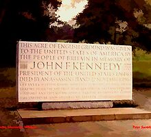 Kennedy Memorial, Windsor by Peter Sandilands