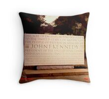 Kennedy Memorial, Windsor Throw Pillow
