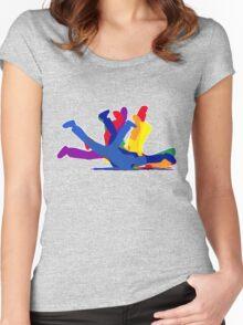 BreakDance Women's Fitted Scoop T-Shirt