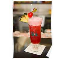 The famous Singapore Sling Poster