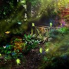 At the Bottom of the Garden by Carol Bleasdale
