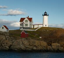 The Nubble Lighthouse by DebbieT