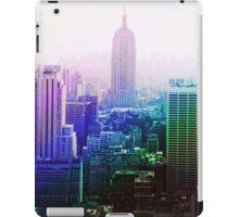 Empire State Building Spectrum iPad Case/Skin