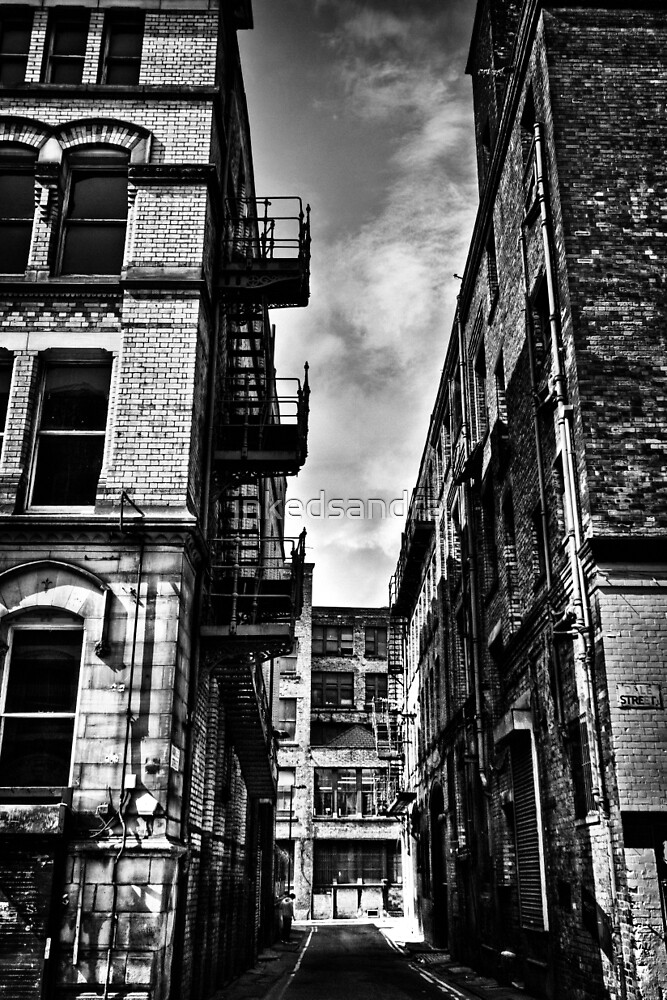 Northern Quarter MANchester by inkedsandra