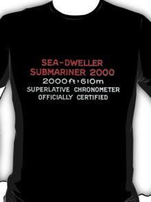 Double Red Sea Dweller - Rolex T-Shirt
