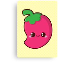 Kawaii Chilli Canvas Print