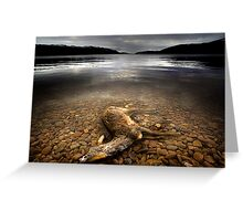 Surface Interruption-Loch Ness Greeting Card