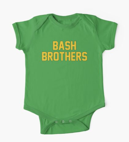 Bash Brothers One Piece - Short Sleeve