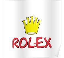Bart Simpson Coronet - Rolex Poster