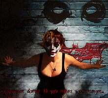 whatever doesnt kill you makes you ... stranger by giovanni damiano presenza