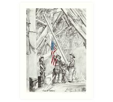'Flag of Freedom' Art Print