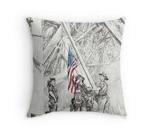 'Flag of Freedom' Throw Pillow