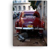 Chevy Mechanic Canvas Print
