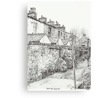 Down the Alleyway Canvas Print