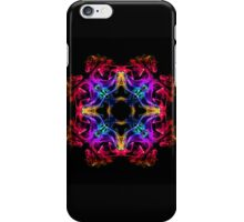 Exotic smoke flower iPhone Case/Skin