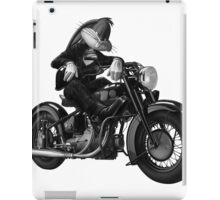 Biker Bugs Bunny iPad Case/Skin