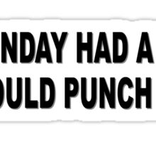 Monday Meme Funny Sticker
