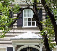 Old Home in Savannah Sticker
