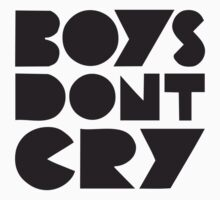 BOYS DON'T CRY Kids Clothes