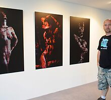 Launch of my latest exhibition by waynequilliam