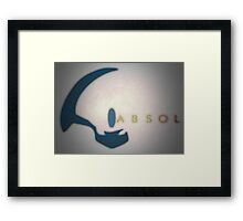 Pokemon - Absol Framed Print