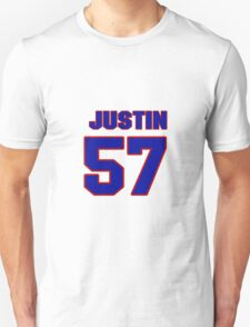 National Hockey player Justin Florek jersey 57 T-Shirt