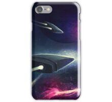 A Race In Space iPhone Case/Skin