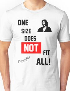 One Size Does NOT Fit All - Miranda Hart [Unofficial] Unisex T-Shirt
