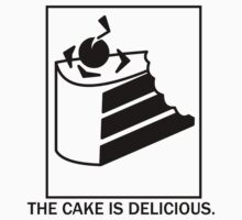 The cake is delicious. One Piece - Long Sleeve