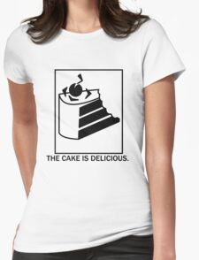 The cake is delicious. T-Shirt