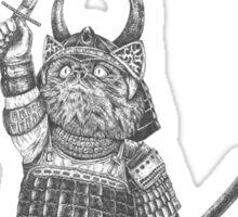 Samurai Cat Sticker