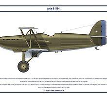 Avia B-534 Greece 1 by Claveworks