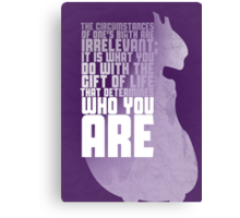 Mewtwo - The First Movie Quote Canvas Print