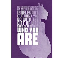 Mewtwo - The First Movie Quote Photographic Print