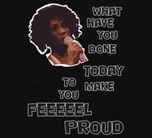 What Have You Done Today To Make You Feel Proud - Miranda Hart [Unofficial] Kids Tee