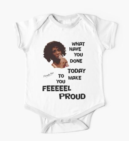 What Have You Done Today To Make You Feel Proud - Miranda Hart [Unofficial] One Piece - Short Sleeve