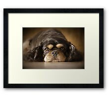 JUST BOOTS Framed Print