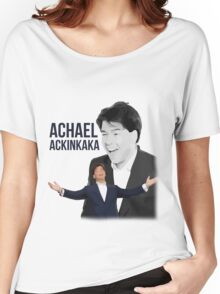 Michael McIntrye - Showtime - Achael Ackinkaka Women's Relaxed Fit T-Shirt