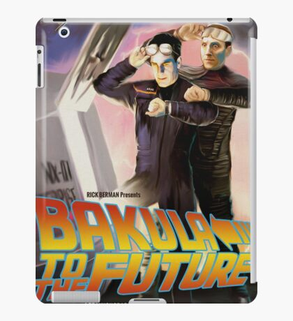 Bakula to the Future iPad Case/Skin